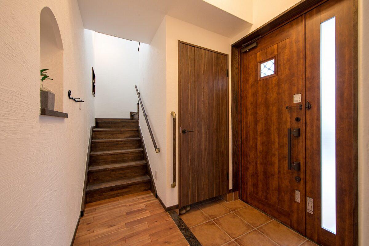二世帯 2階部分 玄関ホール