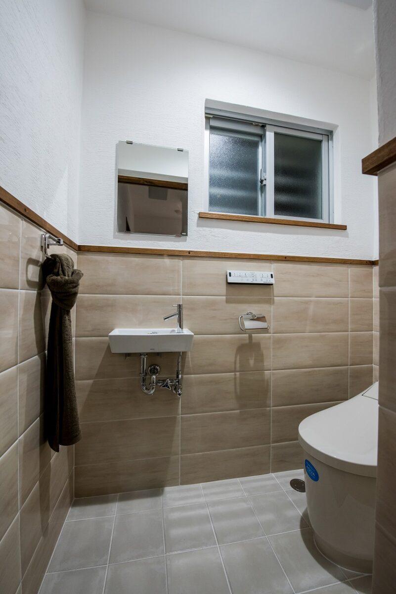 トイレも使いやすくシンプルに!